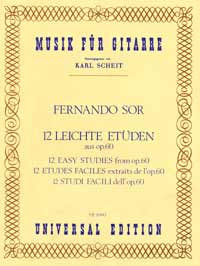 12-Easy-Studies-Sor-Fernando-for-guitar-9790008006241